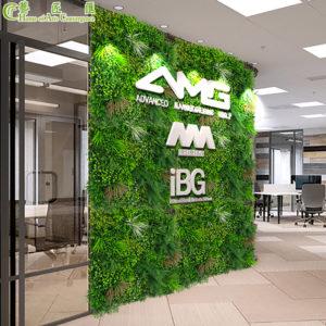 Luxury fake plant wall