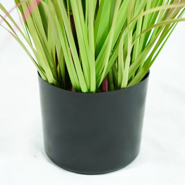 4ft Artificial Reed Grasses Potted Plant Pvc Fake Greenery Plant With Black Pot Home Decor China Hac