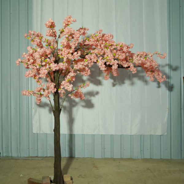 fake cherry tree for wedding arch