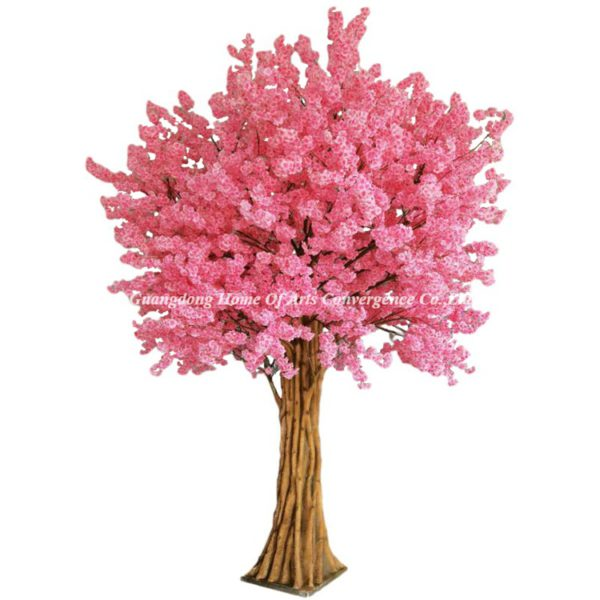 400cm tall pink cherry tree artificial
