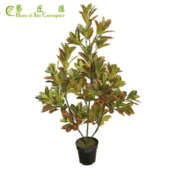 silk foliage tree plants