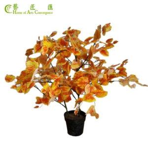 silk foliage plants