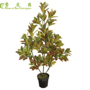 silk foliage tree plants
