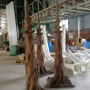 artificial tree trunk