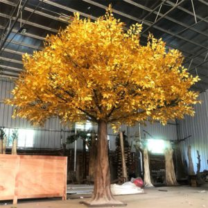 Decorative fake banyan tree