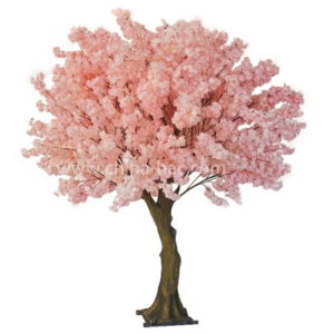 faux blossom trees