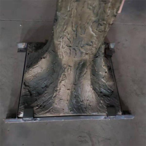 faux apple tree trunk