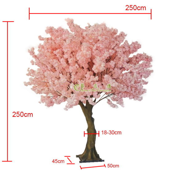 artificial sakura tree
