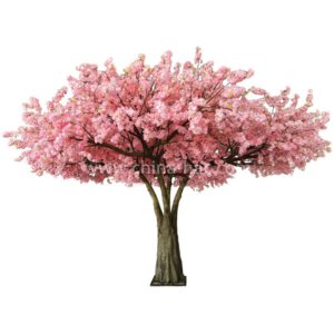 large artificial cherry tree