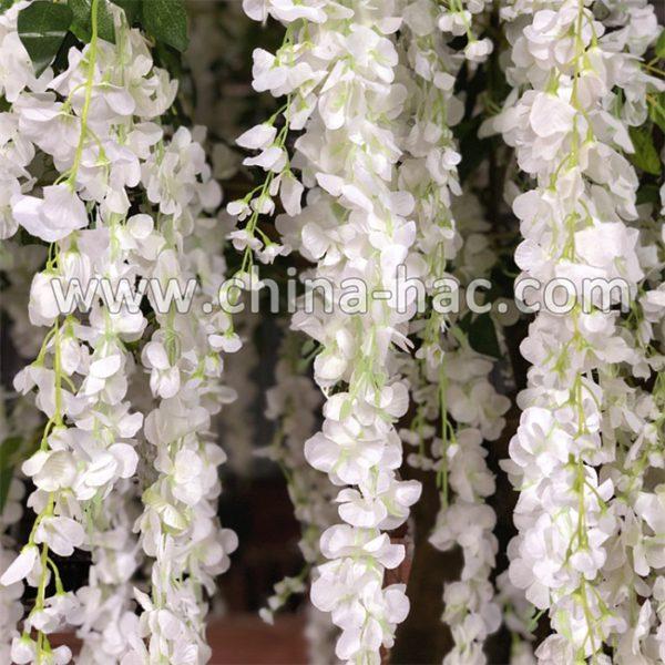 silk wisteria stems