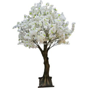 White FAUX CHERRY TREE