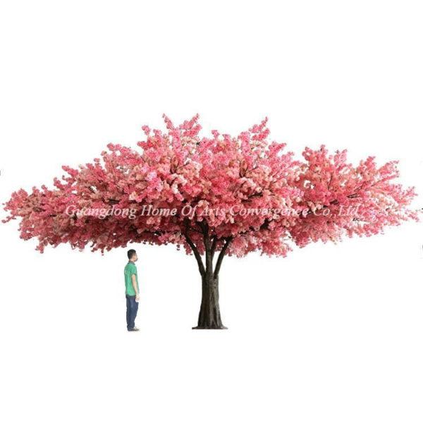 giant bespoke fake cherry trees