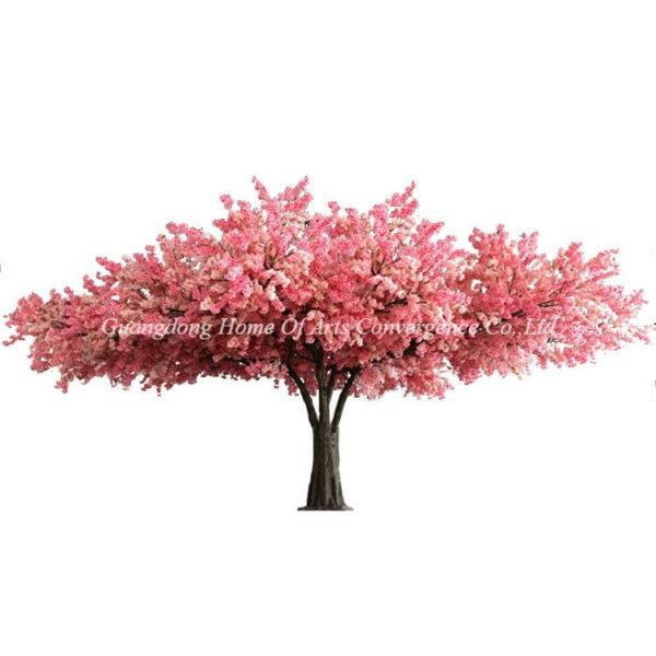 10m wide canopy artificial blossom tree for restaurant