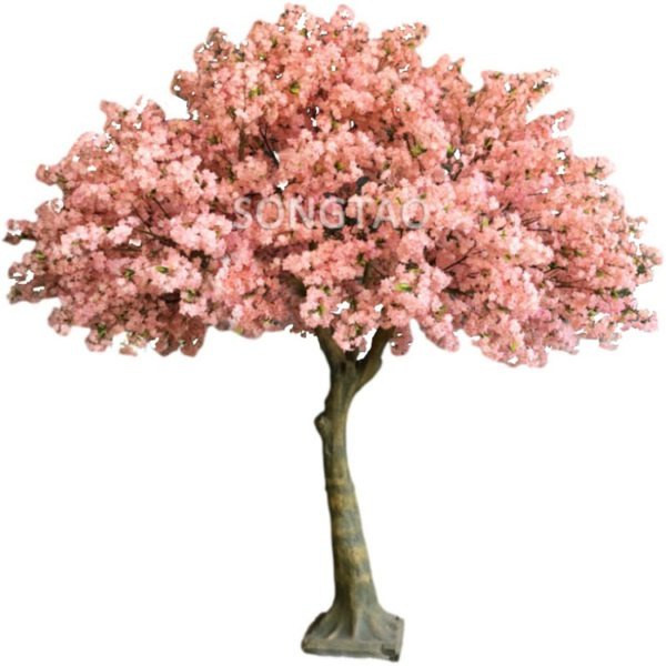 350cm pink fake sakura tree