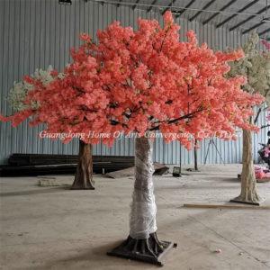 large fake cherry tree