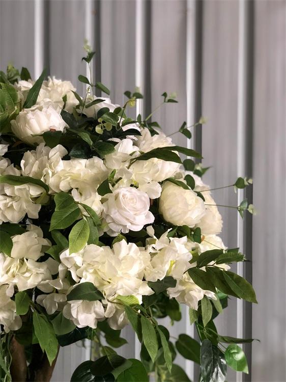 silk rose shrub